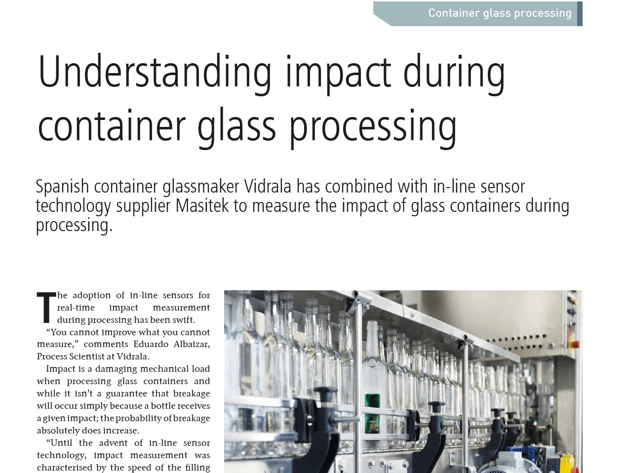 Glass International Feature Article, May 2019